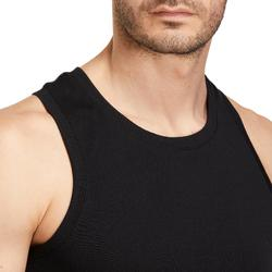 500 Pilates and Gentle Gym Tank Top - Black
