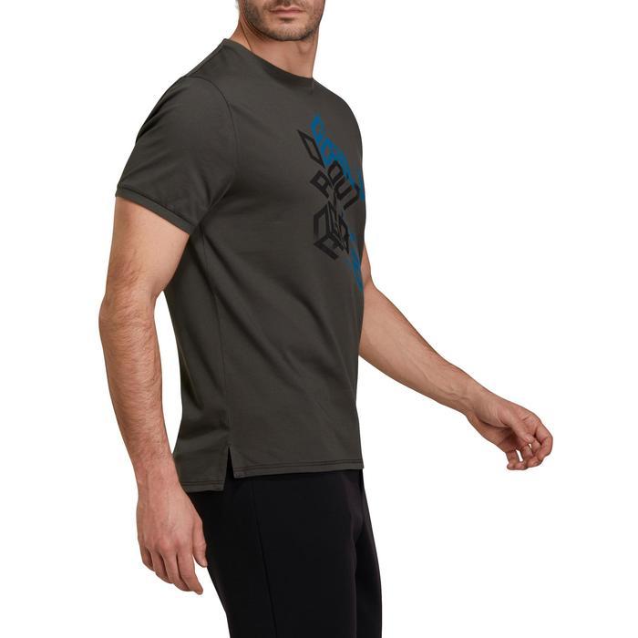 T Shirt regular imprimé Gym & Pilates homme - 1190205