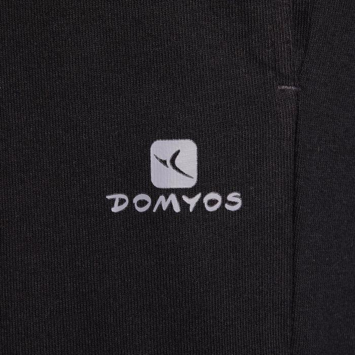 Pantalon jersey regular Gym & Pilates homme gris foncé - 1190211