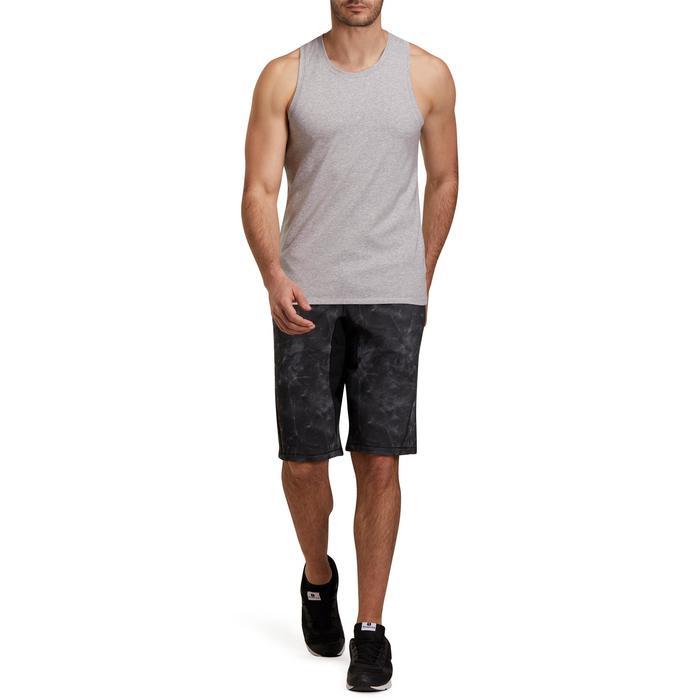 Débardeur coton respirant Gym & Pilates homme - 1190212