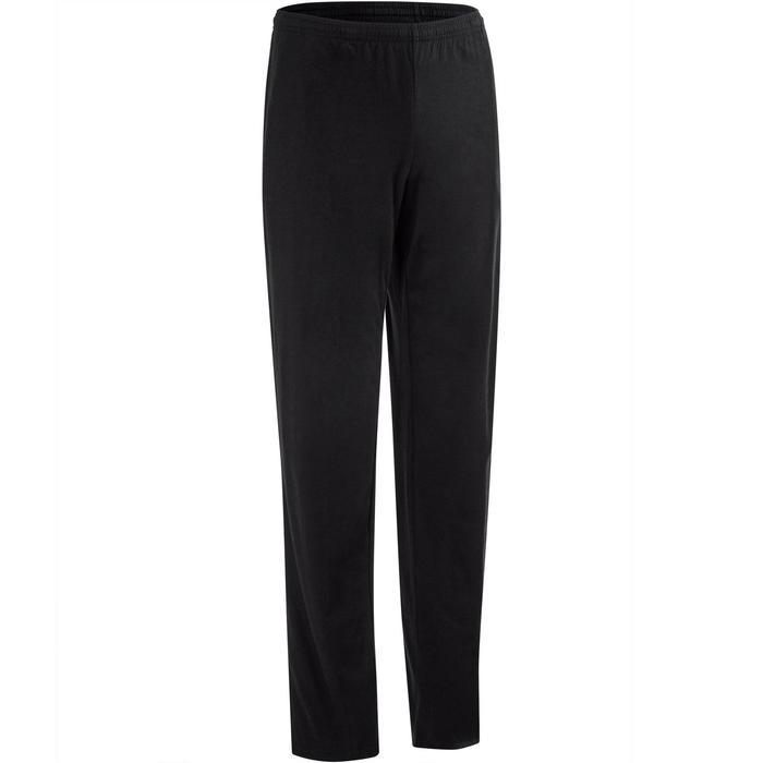 Pantalon jersey regular Gym & Pilates homme gris foncé - 1190233