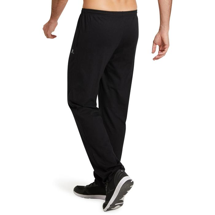 Pantalon jersey regular Gym & Pilates homme gris foncé - 1190249