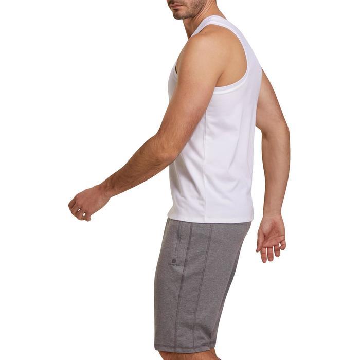 Débardeur coton respirant Gym & Pilates homme - 1190296