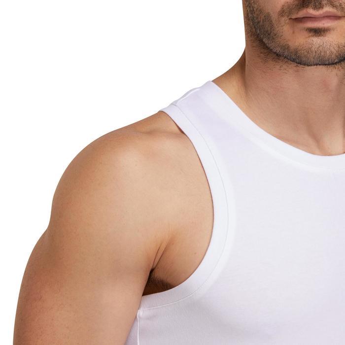 Débardeur coton respirant Gym & Pilates homme - 1190297