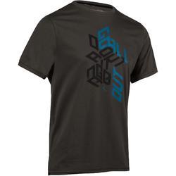 Heren T-shirt voor gym en pilates, regular fit