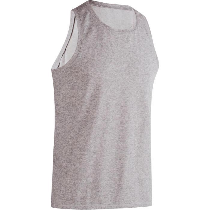 Débardeur coton respirant Gym & Pilates homme - 1190305