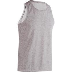 500 Regular-Fit Gym & Pilates Tank Top - Grey