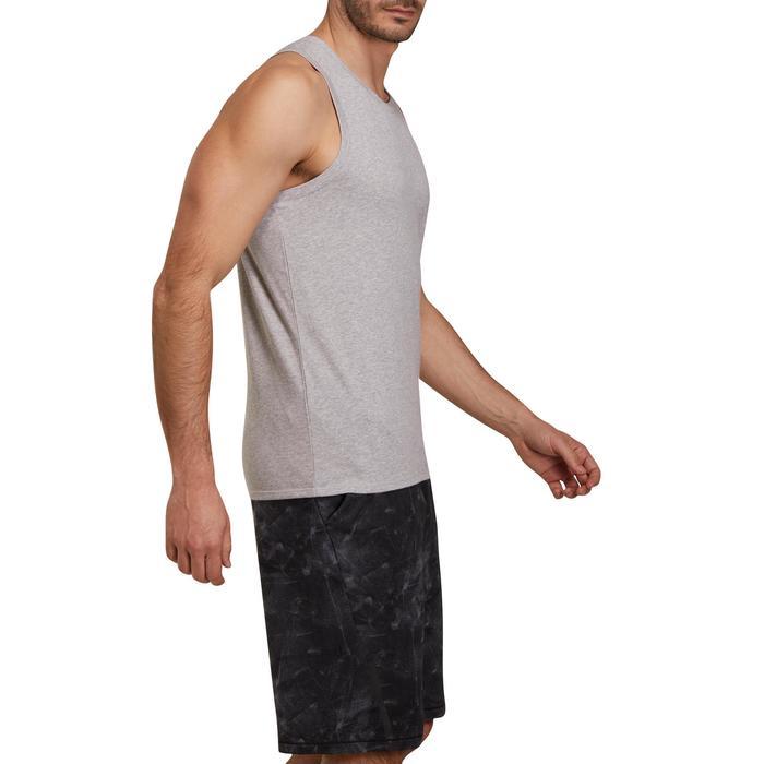 Débardeur coton respirant Gym & Pilates homme - 1190324