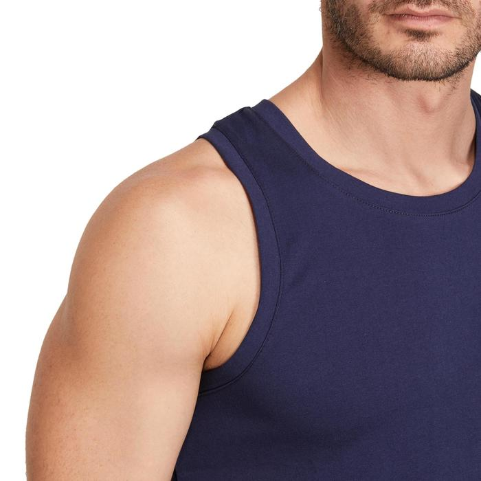 Débardeur coton respirant Gym & Pilates homme - 1190347