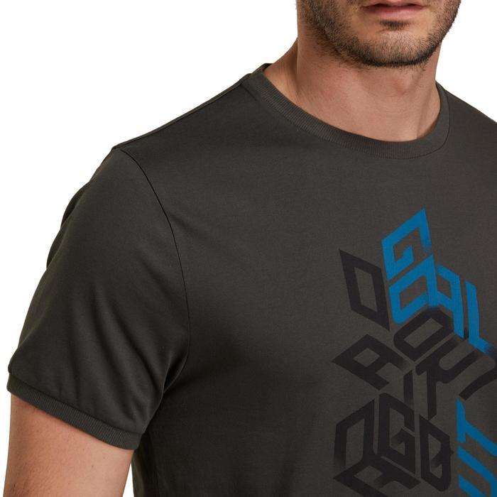 T Shirt regular imprimé Gym & Pilates homme - 1190365