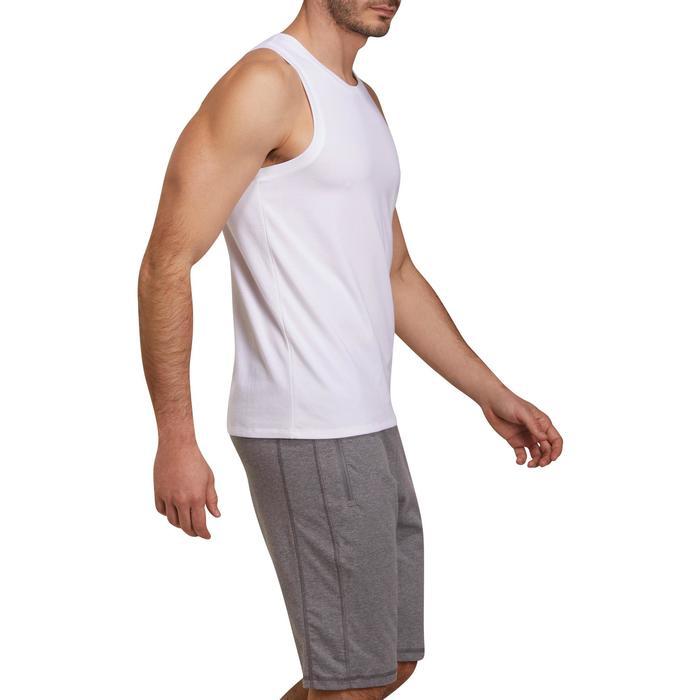 Débardeur coton respirant Gym & Pilates homme - 1190388