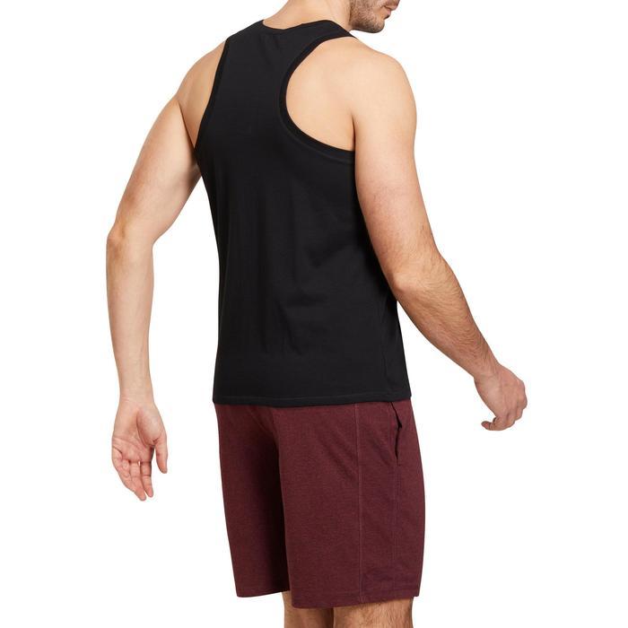 Débardeur coton respirant Gym & Pilates homme - 1190391