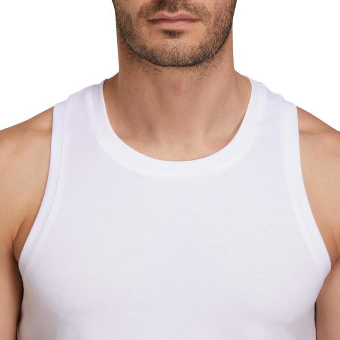 Débardeur coton respirant Gym & Pilates homme - 1190398