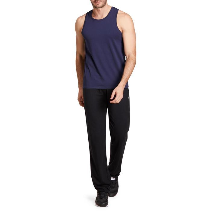 Pantalon jersey regular Gym & Pilates homme gris foncé - 1190406