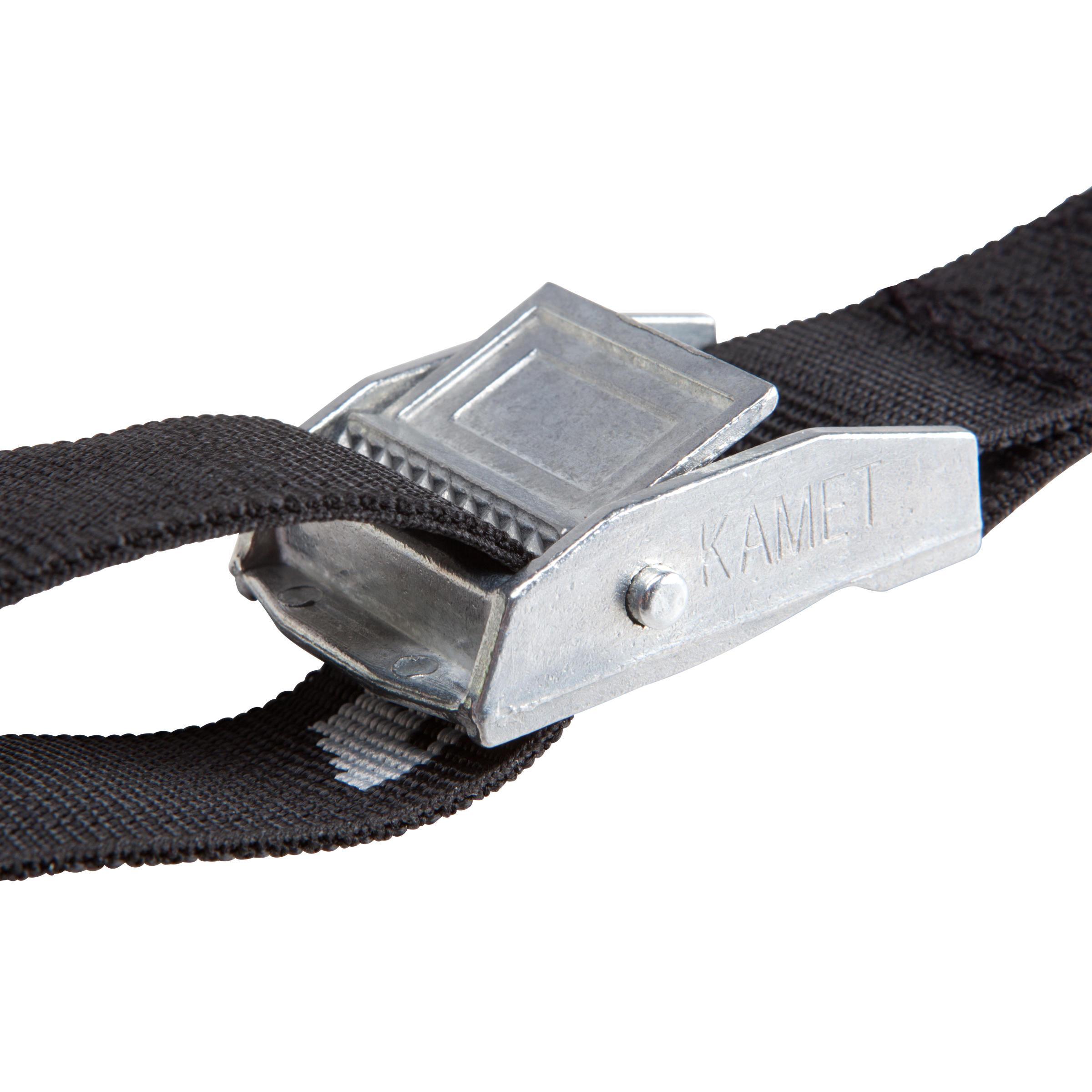 Tightening Strap Kit 2 x 3 m - Black