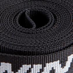 Set 2 spanriemen 3 meter zwart - 119051
