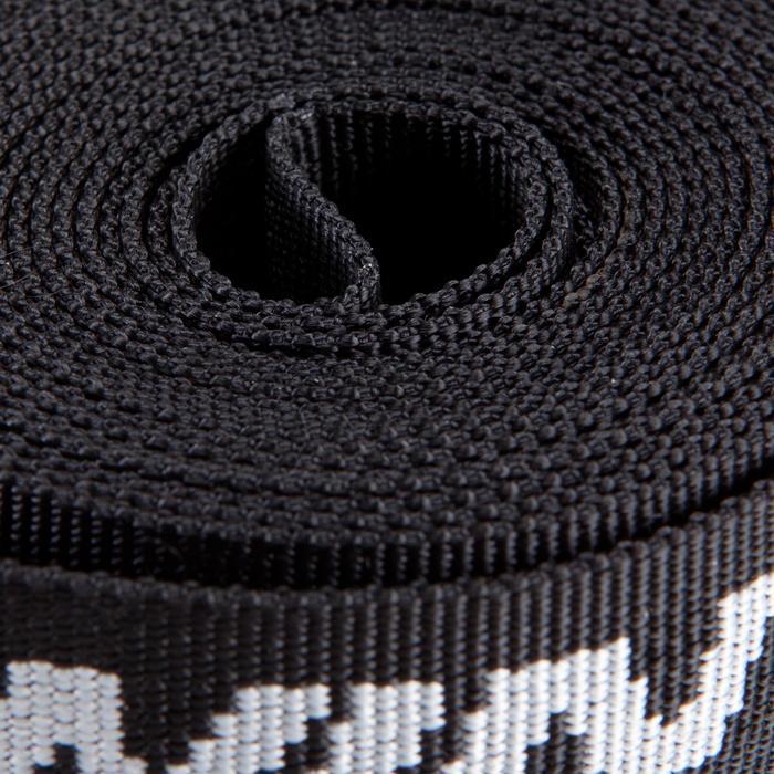 Kit 2 sangles de serrage 3 m noires - 119051