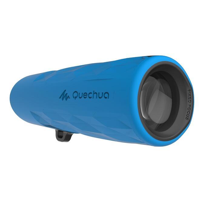 Monocular de senderismo niño sin ajuste M 100 aumento x6 azul