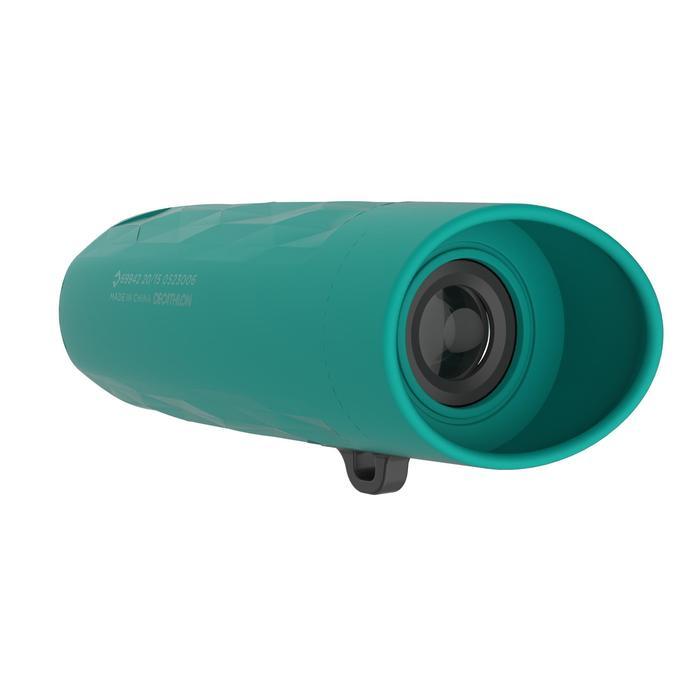 Monocular de senderismo niño sin ajuste M 100 aumento x6 verde
