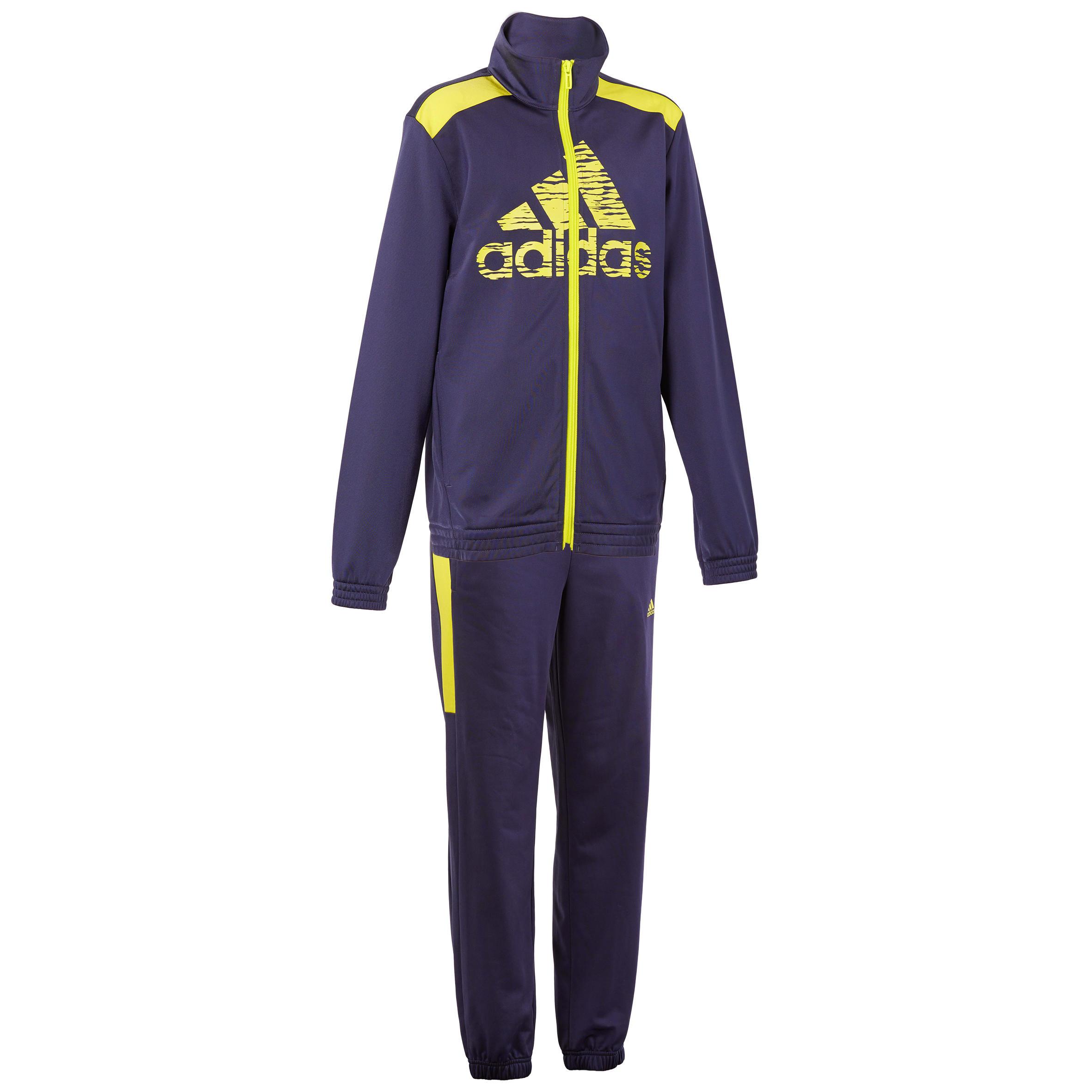 Adidas Trainingspak gym jongens blauw