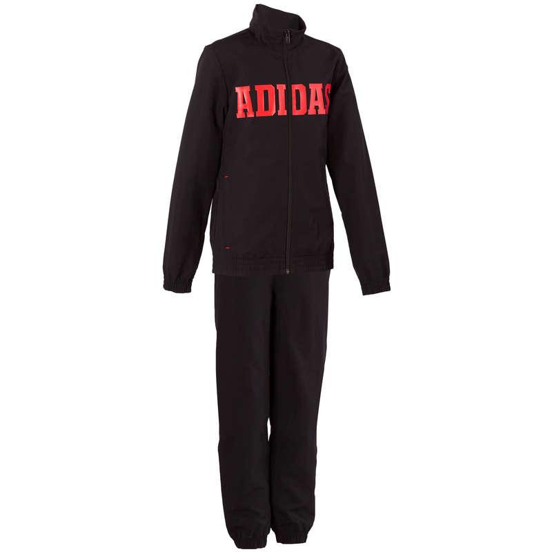 KLÄDER FÖR GYMNASTIK KALL VÄDERLEK, POJK Barnkläder - Träningsoverall Adidas ADIDAS - Underdelar
