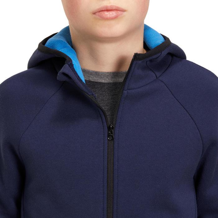 Veste chaude zippée capuche Gym garçon - 1190840