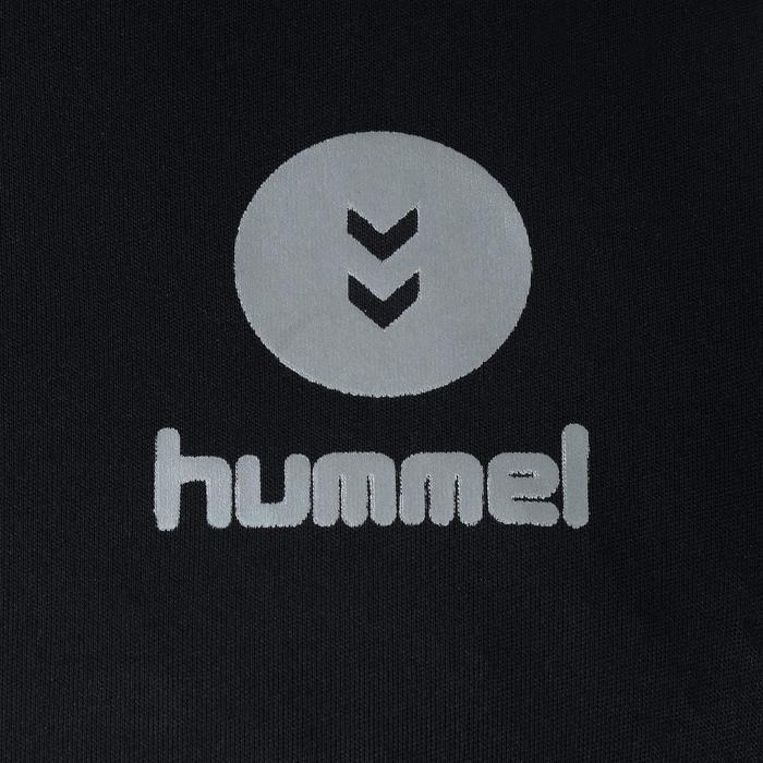 Maillot de handball Hummel Campaign homme noir/jaune, chevrons jaune 2017 - 1190846