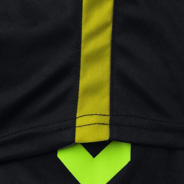 Maillot de handball Hummel Campaign homme noir/jaune, chevrons jaune 2017 - 1190852