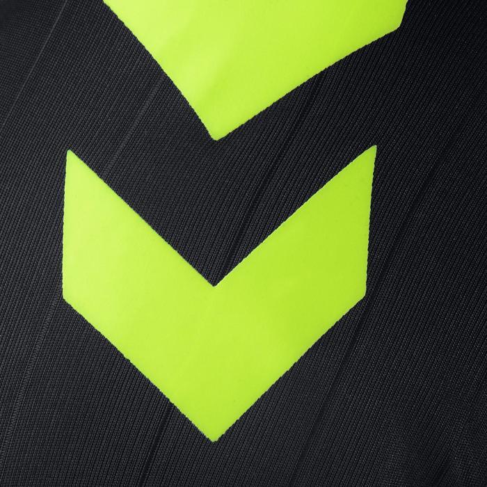 Maillot de handball Hummel Campaign homme noir/jaune, chevrons jaune 2017 - 1190856