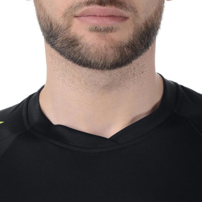 Maillot de handball Hummel Campaign homme noir/jaune, chevrons jaune 2017 - 1190858