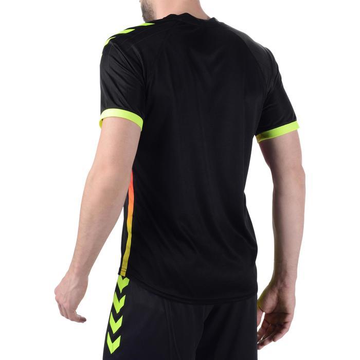 Maillot de handball Hummel Campaign homme noir/jaune, chevrons jaune 2017 - 1190861