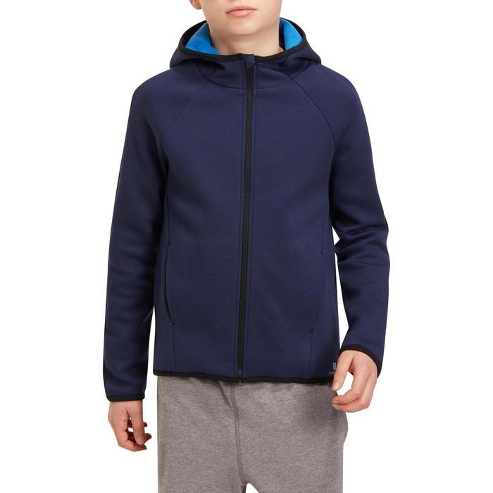 Veste chaude zippée capuche Gym garçon - 1190873