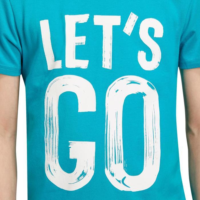 T-Shirt manches courtes 100 Gym garçon imprimé - 1190879