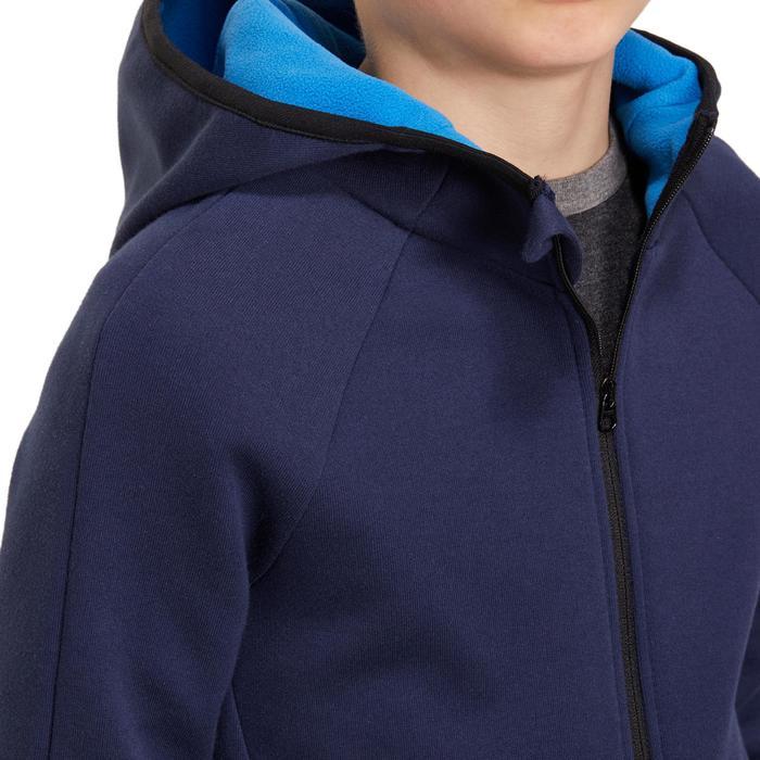 Veste chaude zippée capuche Gym garçon - 1190882