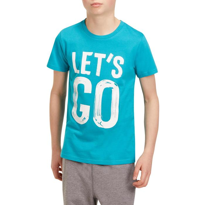 T-Shirt manches courtes 100 Gym garçon imprimé - 1190899