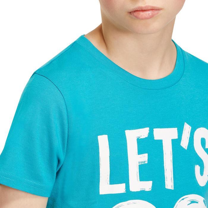 T-Shirt manches courtes 100 Gym garçon imprimé - 1190930
