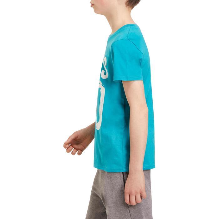 T-Shirt manches courtes 100 Gym garçon imprimé - 1190940