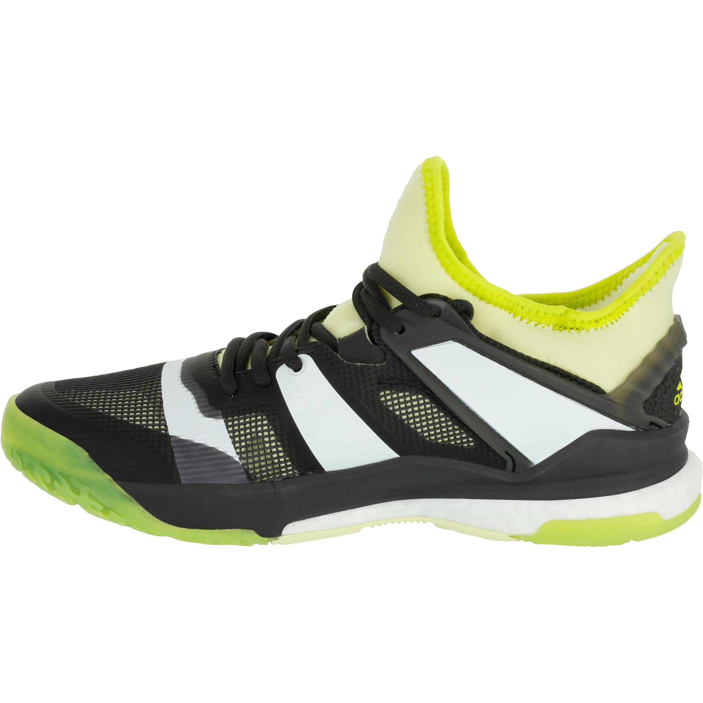 Chaussure de handball adulte Adidas Stabil Boost jaune et noir 2017