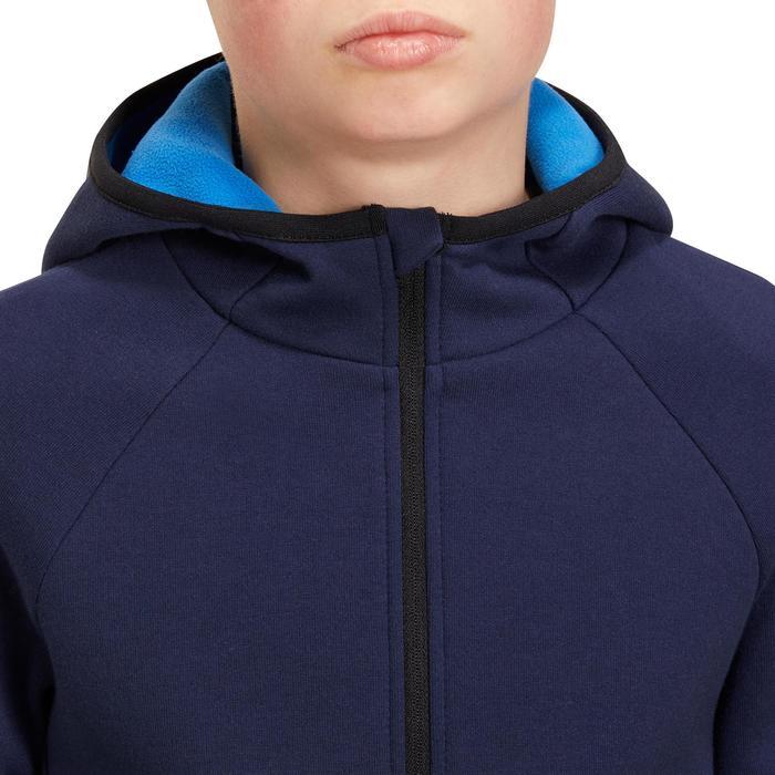 Veste chaude zippée capuche Gym garçon - 1190986