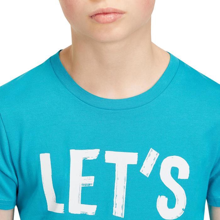 T-Shirt manches courtes 100 Gym garçon imprimé - 1190998