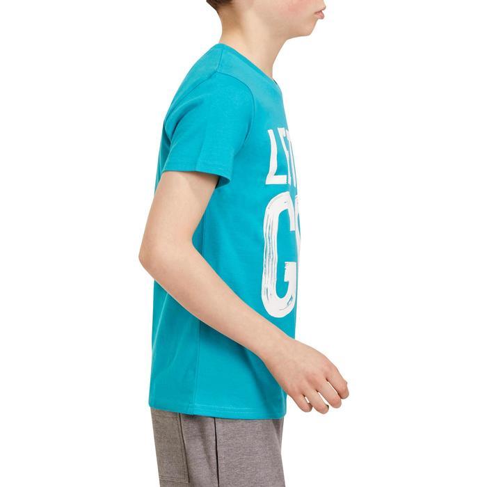 T-Shirt manches courtes 100 Gym garçon imprimé - 1190999