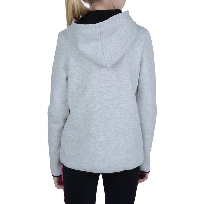 Veste chaude zippée capuche imprimé Gym fille - 1191014