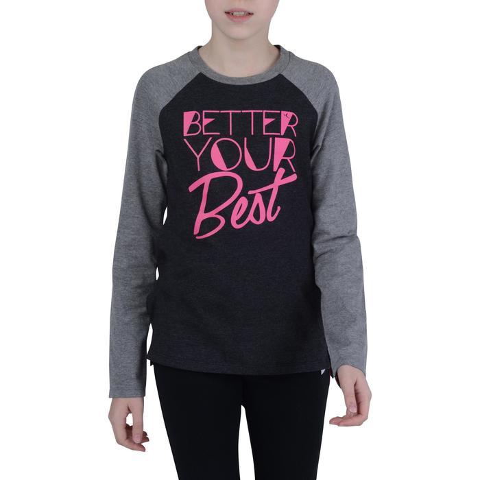 T-Shirt manches longues imprimé Gym fille - 1191039