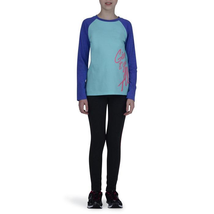T-Shirt manches longues imprimé Gym fille - 1191062