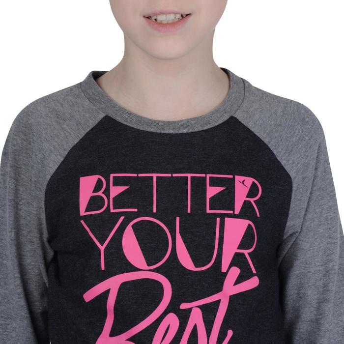 T-Shirt manches longues imprimé Gym fille - 1191071