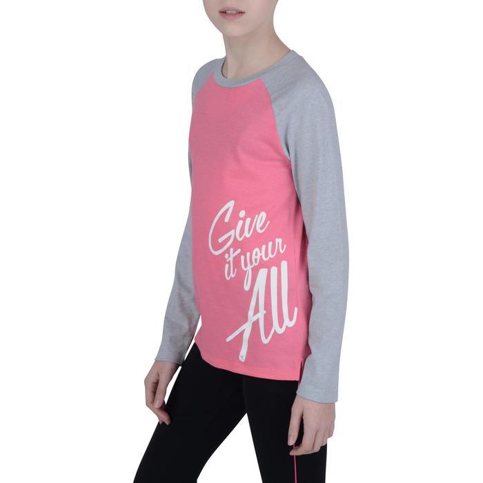 T-Shirt manches longues imprimé Gym fille - 1191079