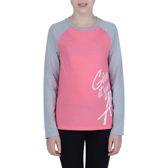 T-Shirt manches longues imprimé Gym fille - 1191081