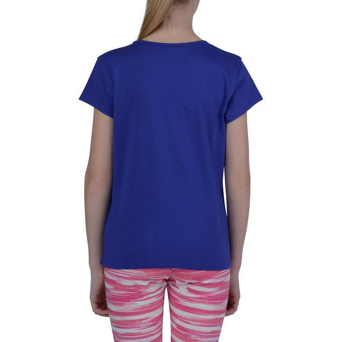 T-Shirt manches courtes 100 Gym fille imprimé - 1191086