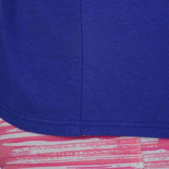 T-Shirt manches courtes 100 Gym fille imprimé - 1191089