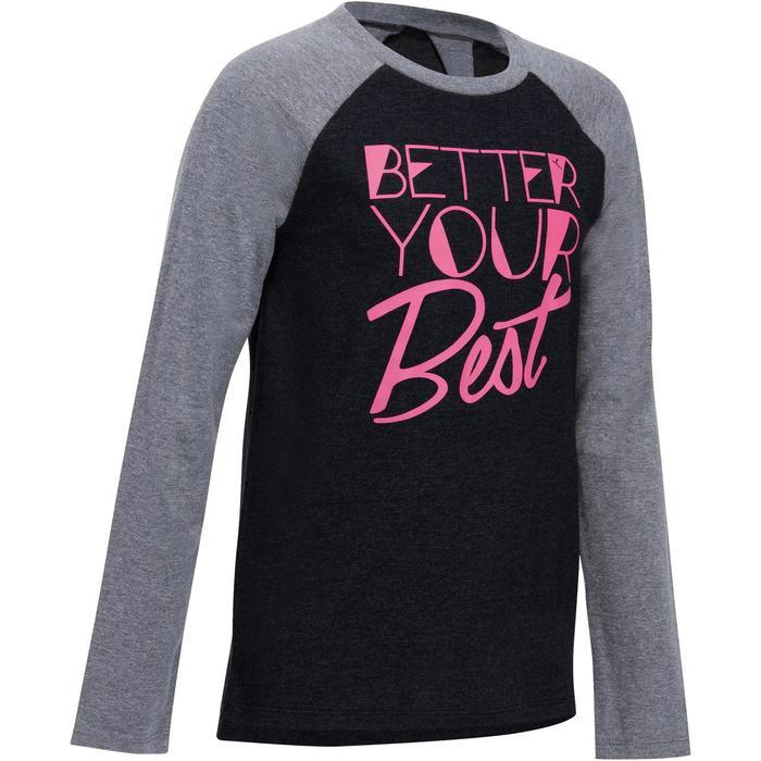 T-Shirt manches longues imprimé Gym fille - 1191091